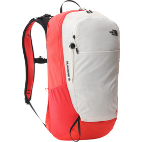 The North Face Alamere 18 Backpack, vintage white/horizon red